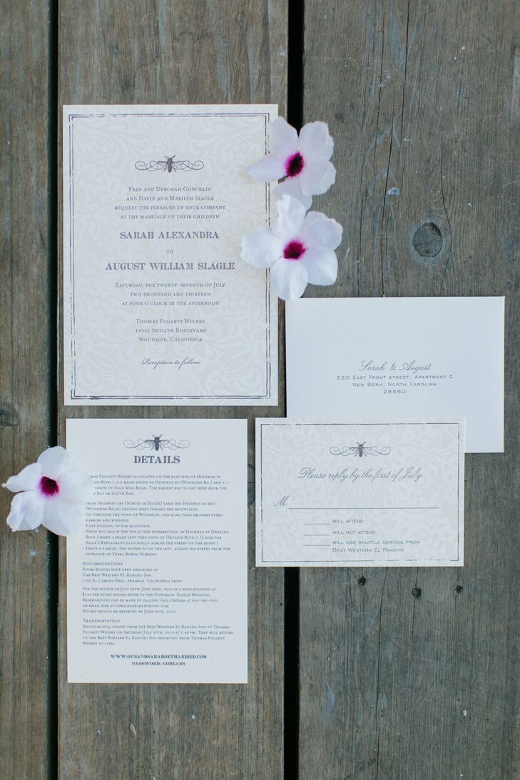 Elegant Printed Invitations