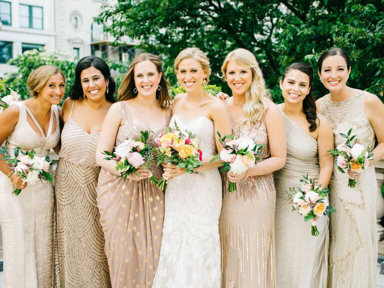 11da112a82d Gold Bridesmaid Dresses to Shop Now
