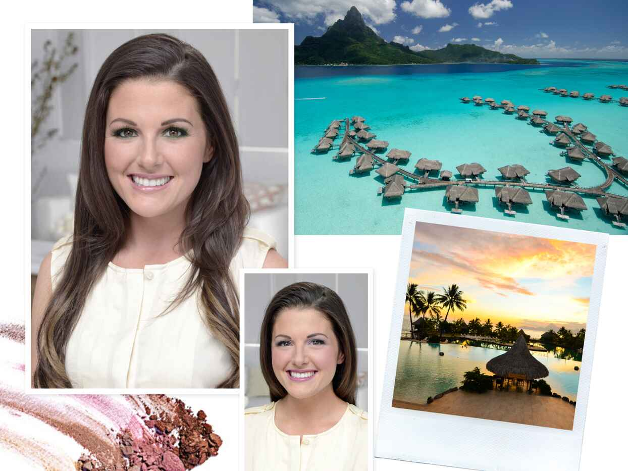 Vote For The Knot Dream Wedding Beauty Look and Honeymoon!
