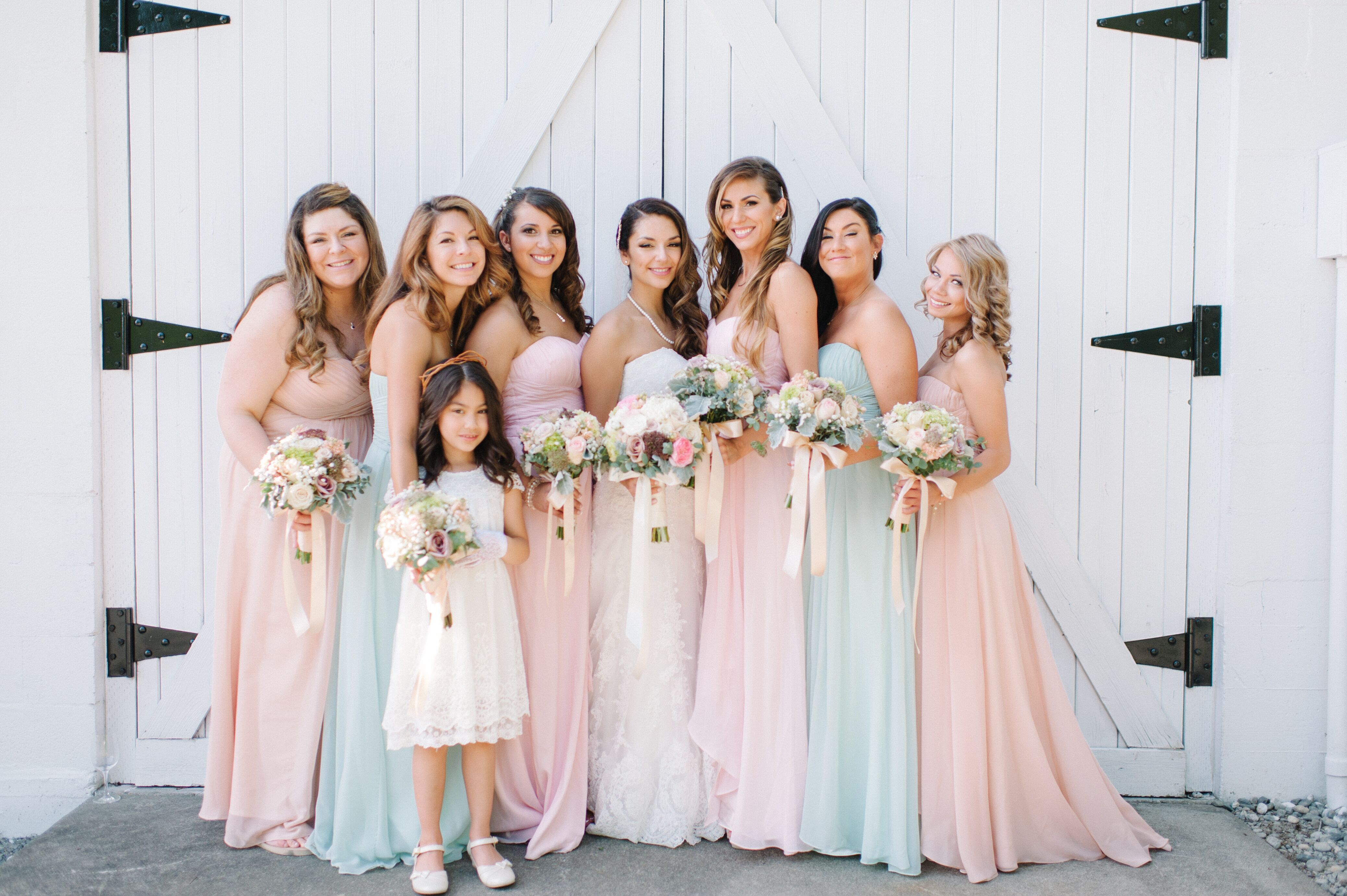 Pastel color bridesmaid dresses wedding dresses in jax pastel color bridesmaid dresses 64 ombrellifo Image collections