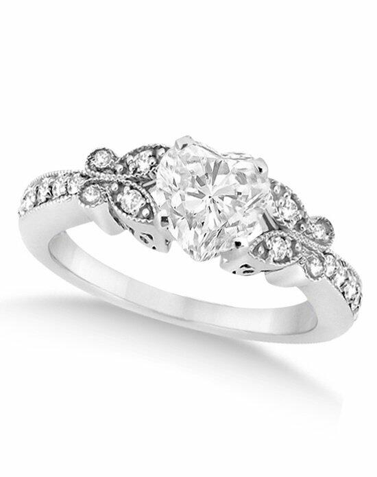Allurez - Customized Rings U5736 Engagement Ring photo