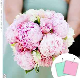 Wedding Color Combo: Pink + Light Blue