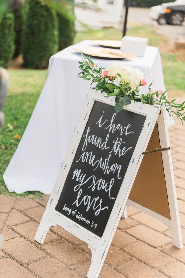 gold script wedding programs