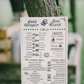 Alternative Wedding Programs