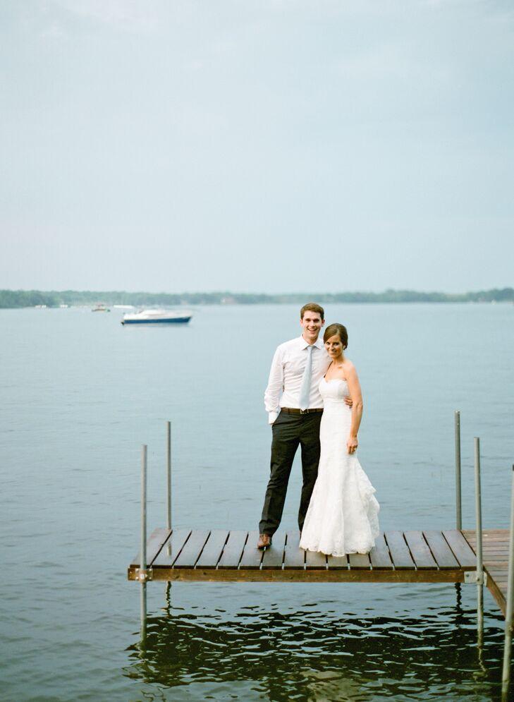 A Clic Waterfront Wedding On Lake Minnetonka In Minneapolis Minnesota