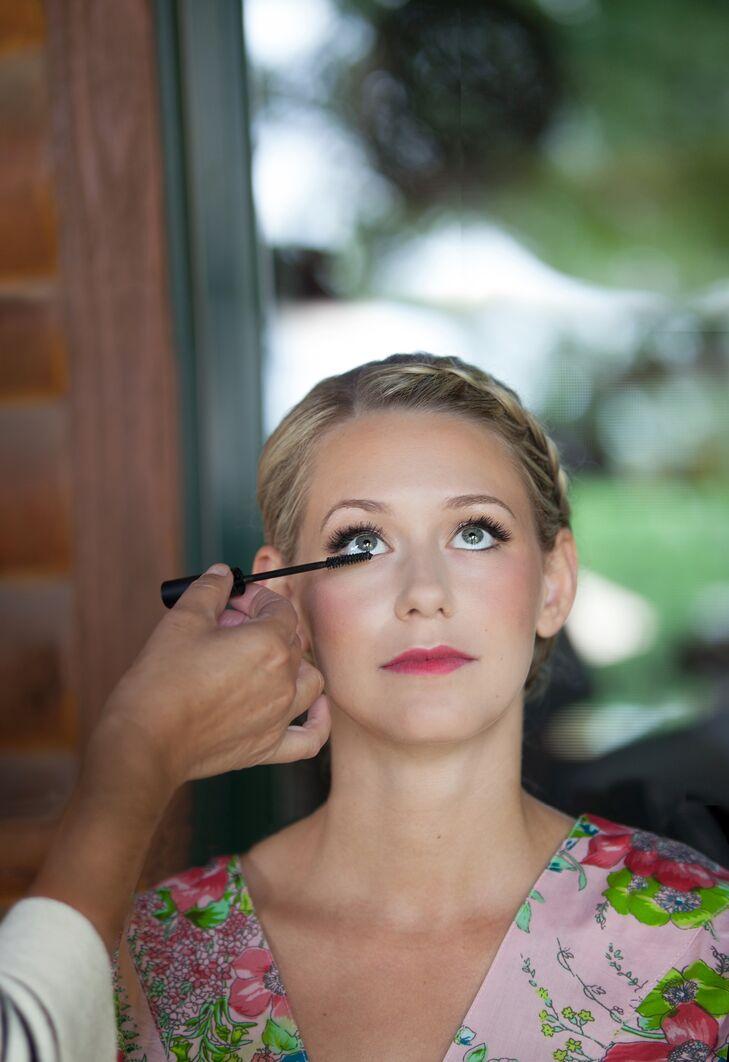 Dramatic Pink Eye Makeup: Dramatic Eye, Pink Lip Natural Bridal Makeup