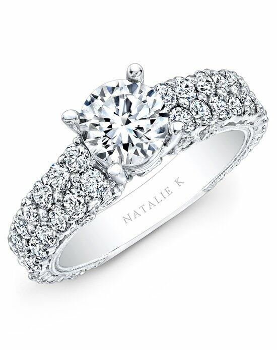 Natalie K Renaissance Collection - NK14739-W Engagement Ring photo