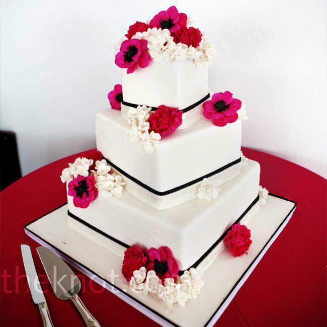 Pink Peonies Cake