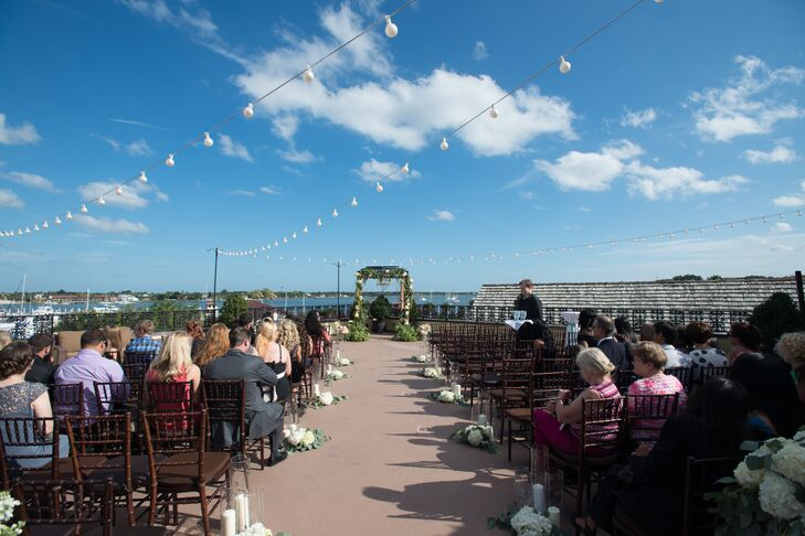 Rooftop Ceremony at The White Room