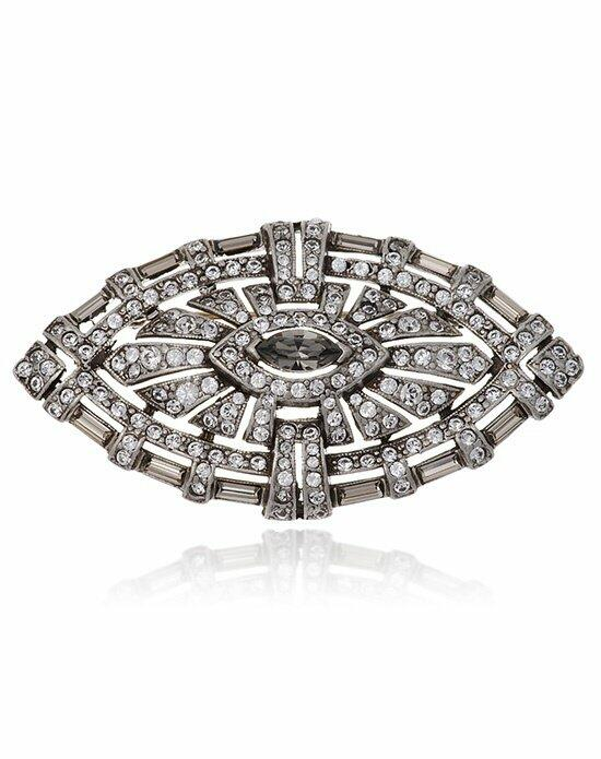 Thomas Laine Mono Deco Brooch Wedding  photo