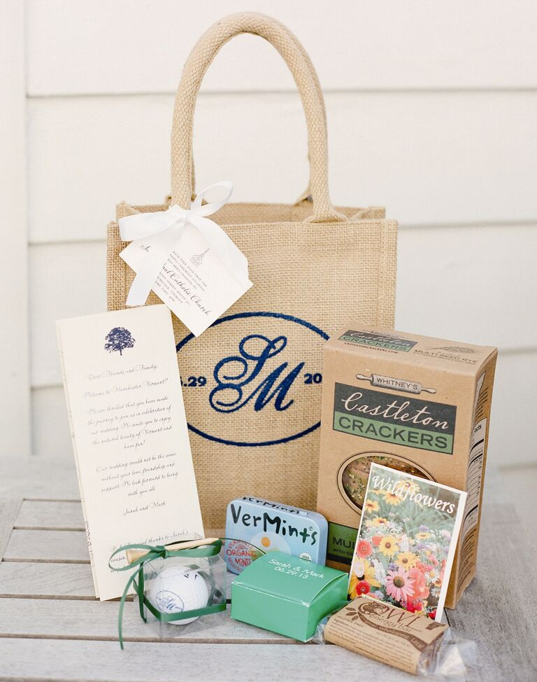 Our favorite wedding welcome bag ideas personal welcome bag junglespirit Image collections