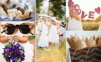 Flower Girl DIY Project // Featured: The Knot Blog