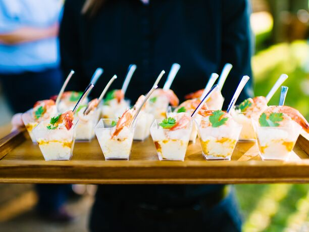 And Check Out These Delicious Looking Mini Fish Tacos With Margaritas On Colin Cowie Weddings