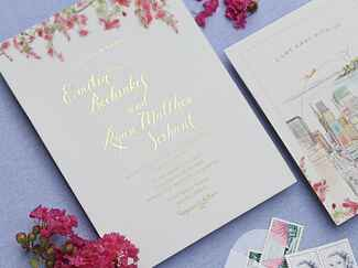 handpainted invitations