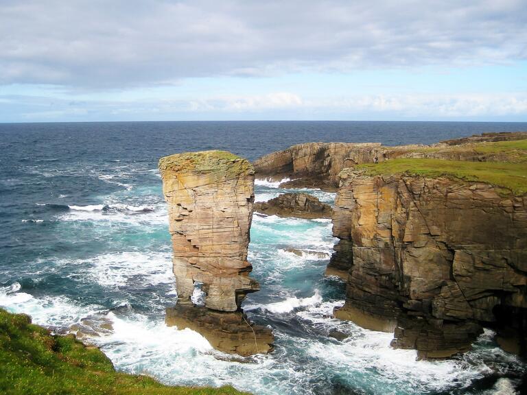 Romantic honeymoon in Orkney, Scotland