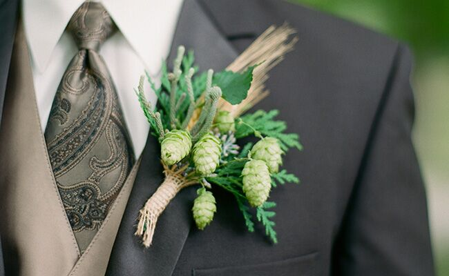 13 Boutonnieres That Don't Have Flowers