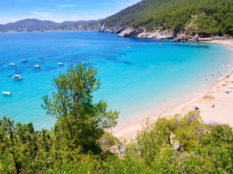 Ibiza Spain beach honeymoon