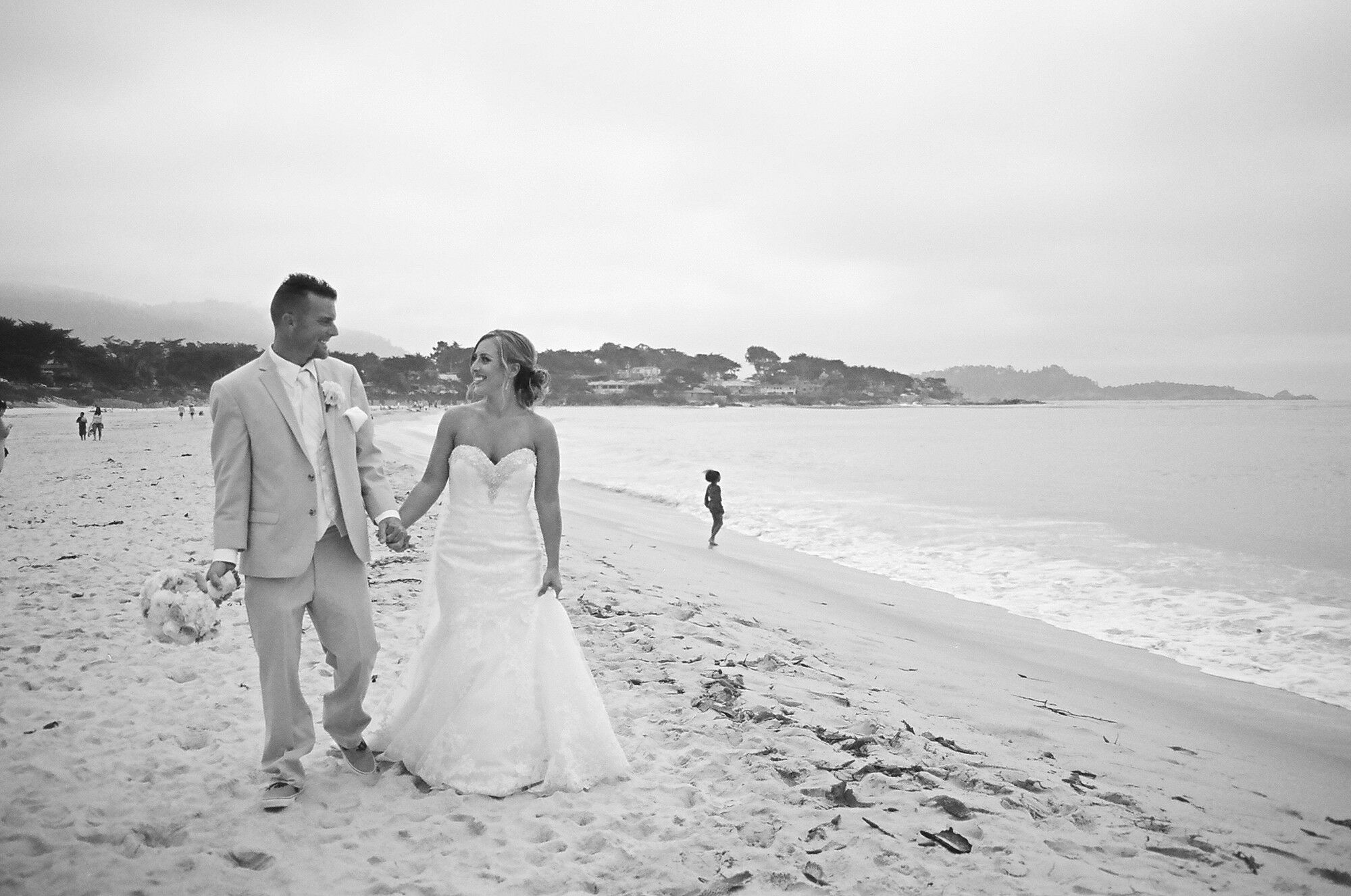 Vintage Beach Wedding Photos