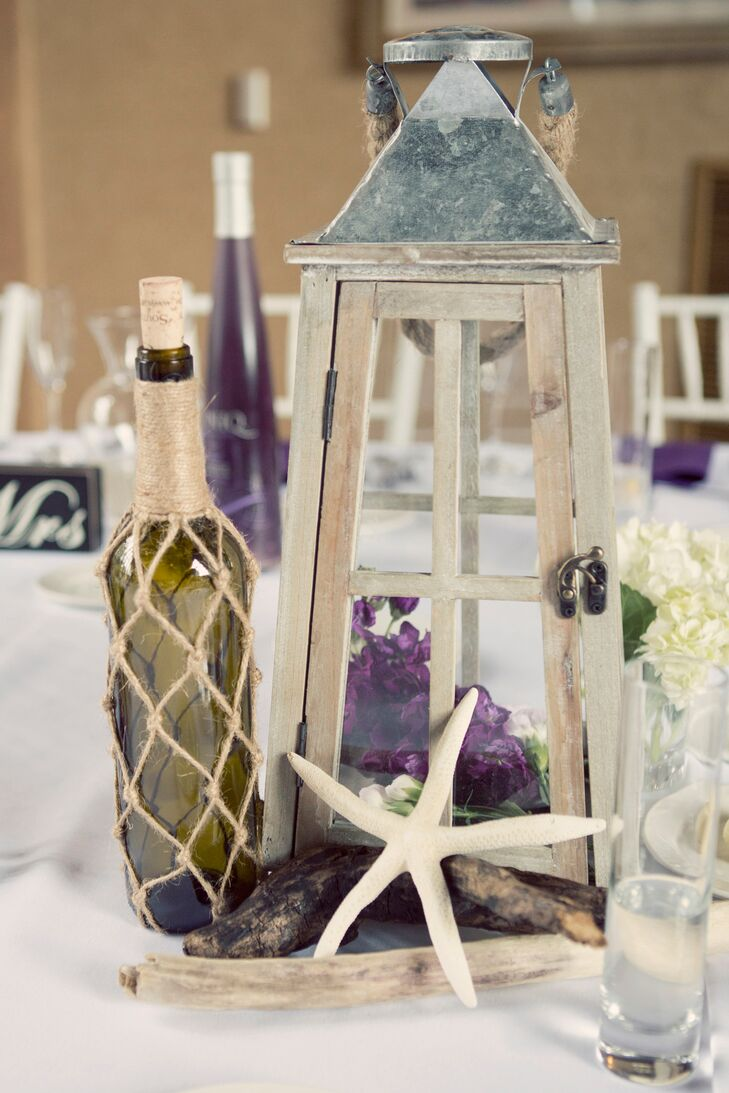 Diy nautical lantern and bottle centerpiece for Anchor decoration runescape