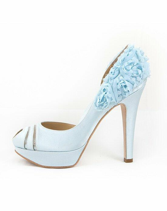 Hey Lady Shoes Luck Be A Lady Blue Wedding Shoes photo