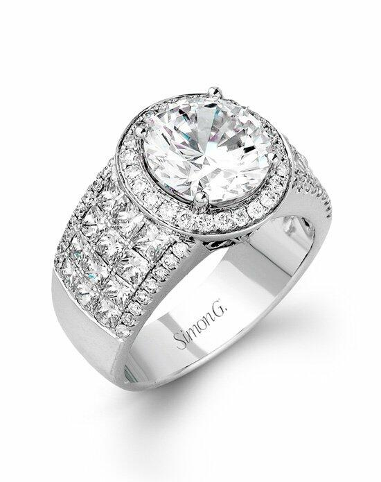 Simon G. Jewelry MR1683 Engagement Ring photo