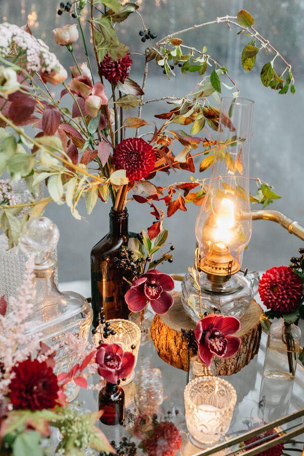 Fall Wedding Centerpieces