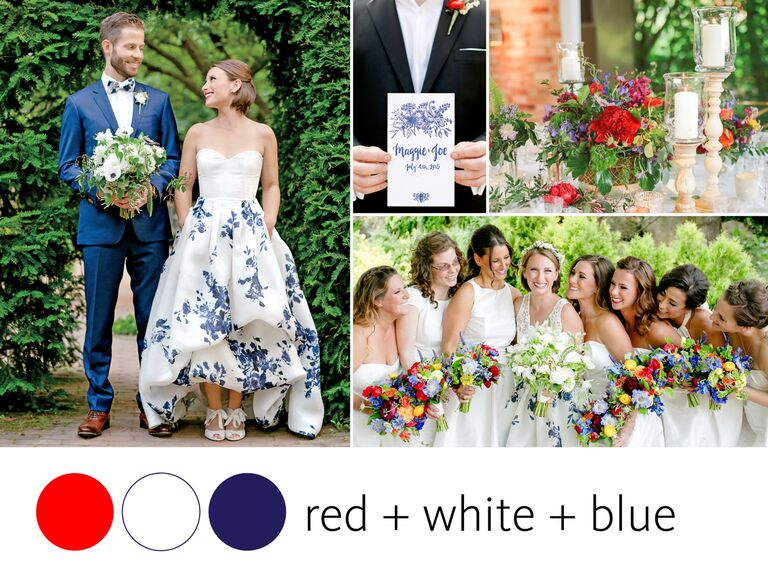 Color Crush: Fourth of July Wedding Color Inspiration