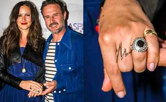 David Arquette and Christina McLarty : Nick Tininenko/Wire Image / TheKnot.com