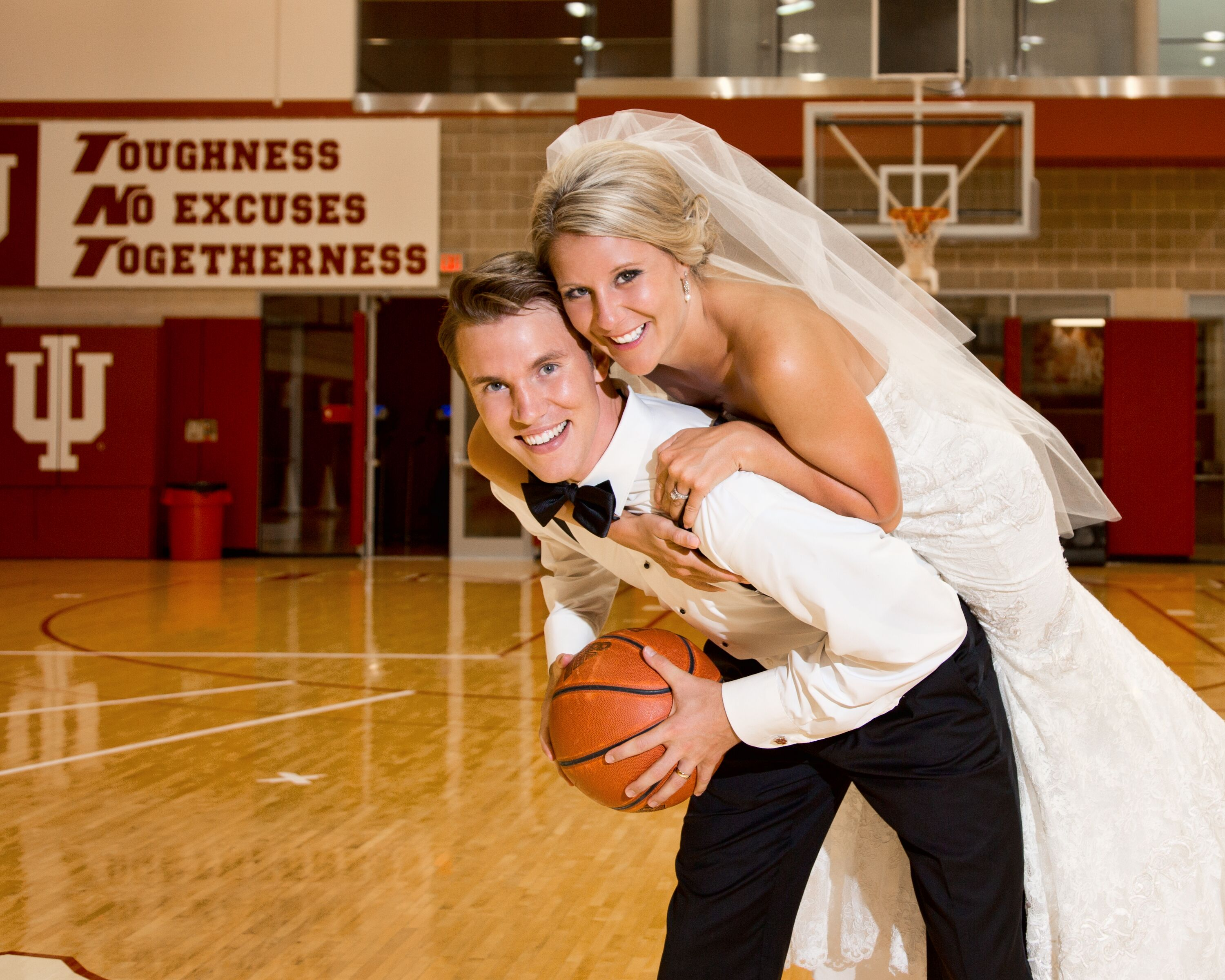 An Indiana University Basketball Wedding At Henke Hall Of