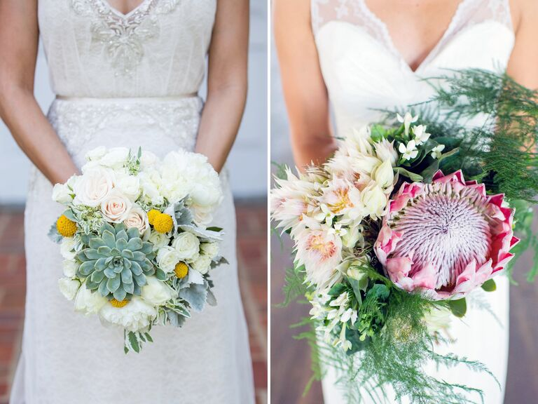 Bridal bouquet ideas and trends