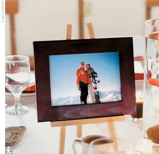 Tables Were Named After The Adventurous Coupleu0027s Favorite Activities And  Showcased Photos Of Some Of Tracey