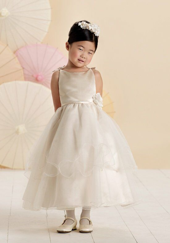 Joan Calabrese by Mon Cheri 214373 Flower Girl Dress photo