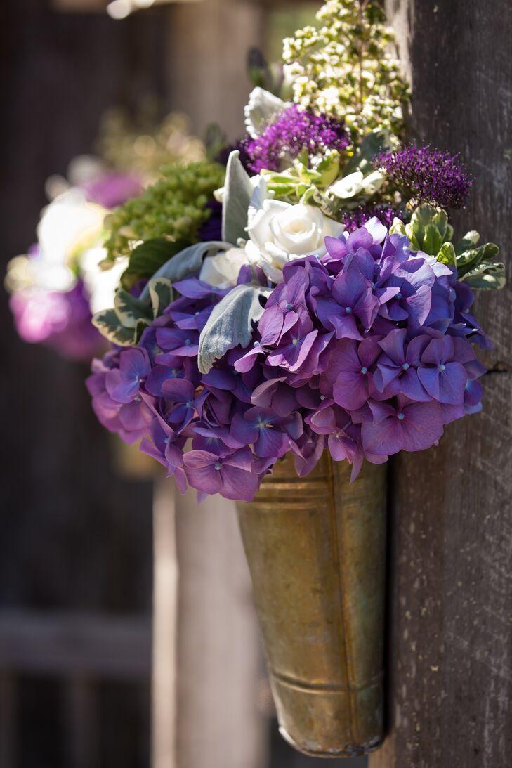Dusty Purple Wedding Bouquet