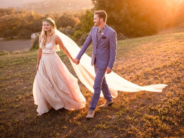 Vanessa Ray And Landon Beard S Wedding