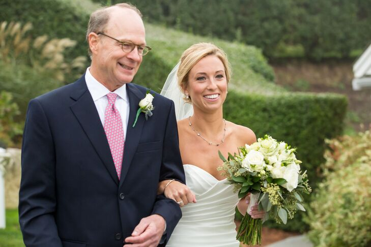 Father of the Bride and Bride Ceremony Recessional