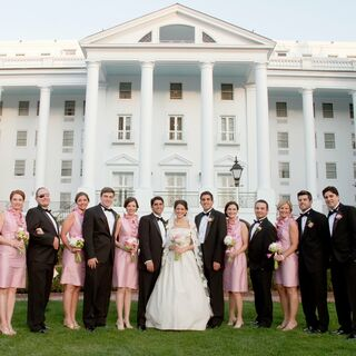 A Greenbrier Resort Wedding in White Sulphur Springs