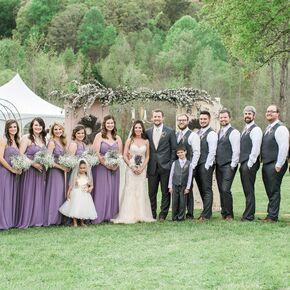Rustic Lavender Weddings