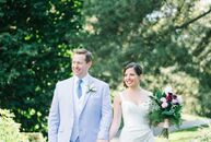 Allison Pohl (31 and a musician) and Alistair MacRae's (39 and a musician) wedding echoed the romance of a wild garden in New York City. Their venue,