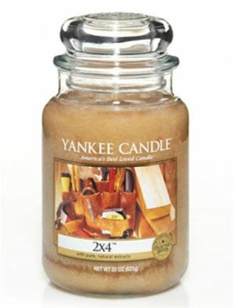 Yankee Candles Man Smells Like Sawdust