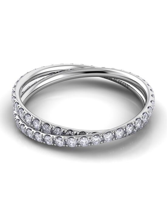 Danhov Eleganza Diamond Braid Band Wedding Ring photo