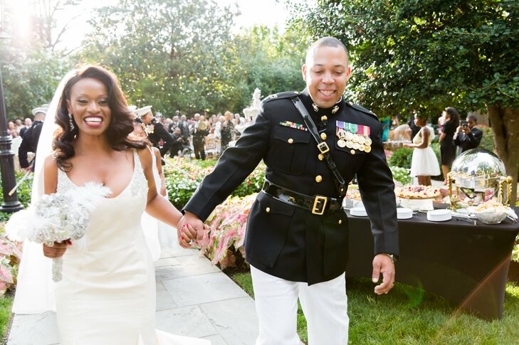 Black Military Wedding