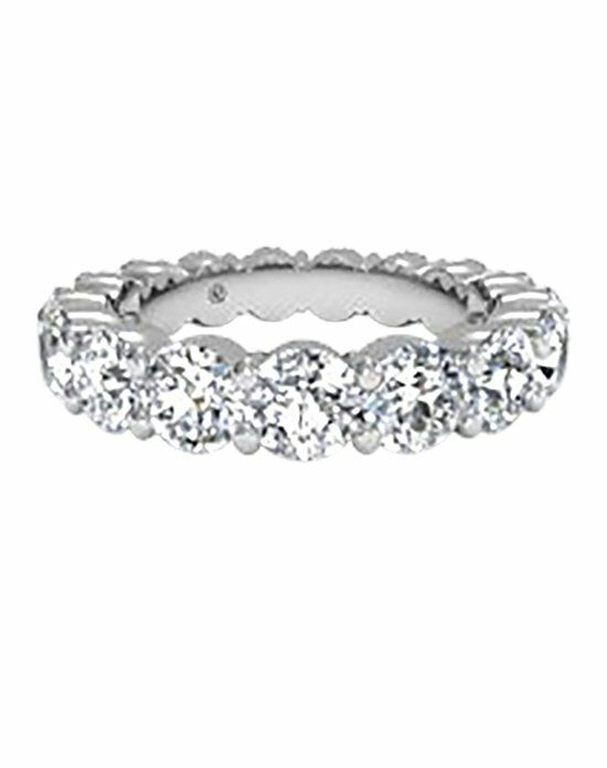Ritani Women's Prong-Set Diamond Eternity Band in 18kt White Gold (3.78 CTW) Wedding Ring photo