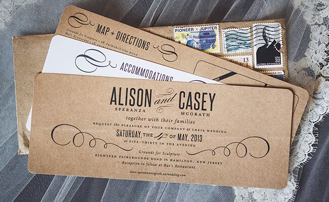 Invitations | Kacy Jahanbini Photography |Blog.theknot.com