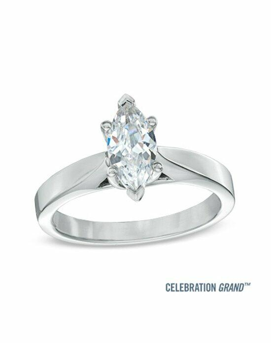Celebration Diamond Collection at Zales Celebration Grand® 1 CT. Marquise Diamond Solitaire Engagement Ring in 14K White Gold (I-J/I1)  19955046 Engagement Ring photo