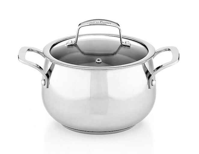 Belgique stainless steel soup pot