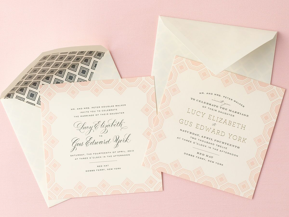 Wording Of Wedding Invitations: Wedding Invitation Wording Samples