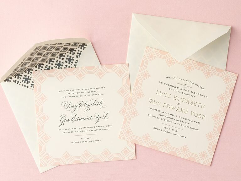 Read here for traditional wedding invitation wording and other wedding invitation tips.