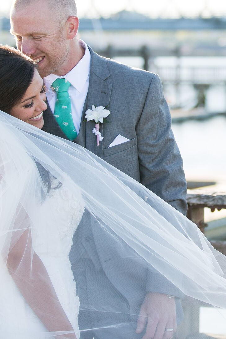 A Romantic, Nautical Spring Wedding at Portsmouth Harbor Events in ...