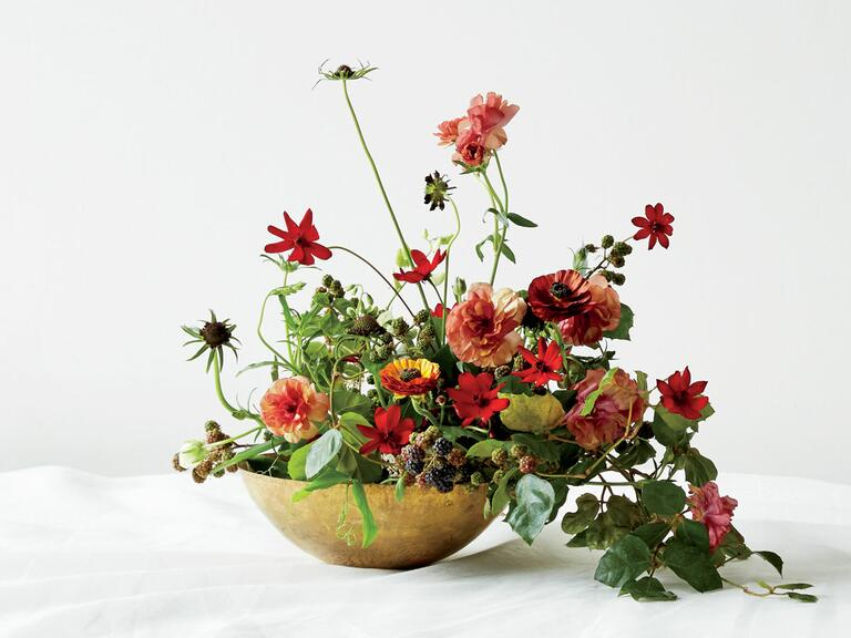 Floral design by Fox Fodder Farm