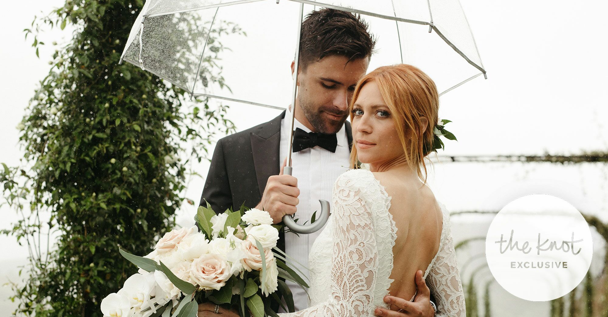 Exclusive: See Brittany Snow and Tyler Stanaland's Wedding Photos
